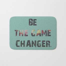 You are the game Bath Mat