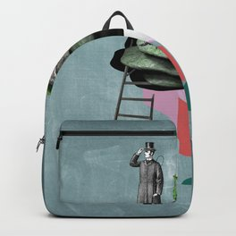 Surreal Collage Backpack