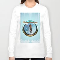 elf Long Sleeve T-shirts featuring Cute elf  by nicky2342