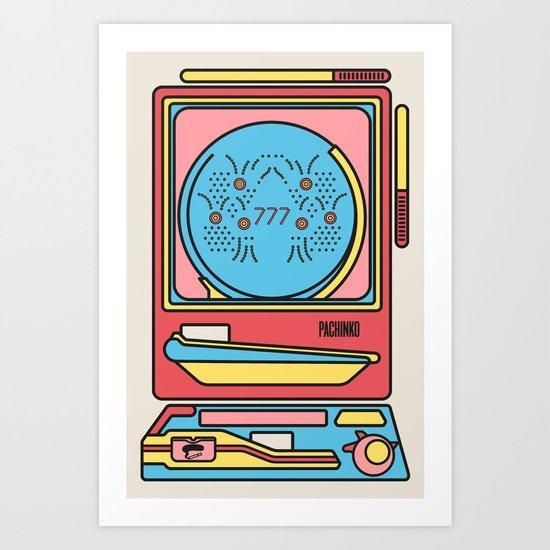 Pachinko Art Print