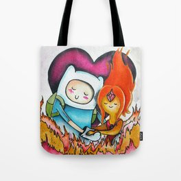 Finn and Flame Princess Tote Bag