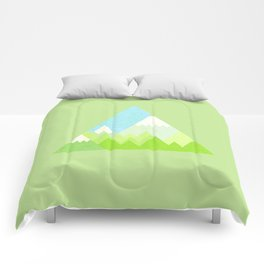 national park geometric pattern Comforters