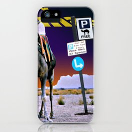 Christmas - Three Wise Men Parking Bay. iPhone Case