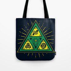 The Tribal Triforce Tote Bag