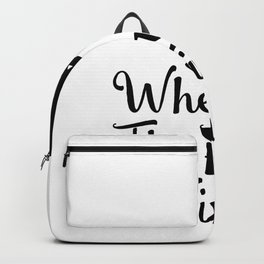 Fanny Running Lovers And Wine Lover Gifts Backpack