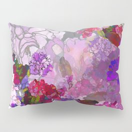 Purple Globes of Rhododendron  Pillow Sham