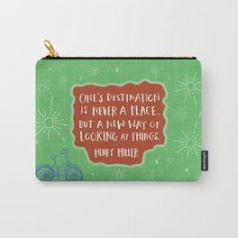 A New Way of Looking At Things Carry-All Pouch