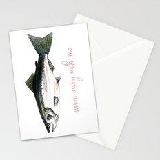 Swim Away With Me Stationery Cards