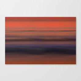 Torrey Pines Sunset Long Exposure Panorama Sweep Canvas Print