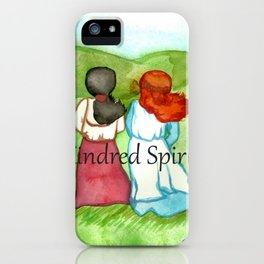 Kindred Spirits Anne of Green Gables iPhone Case