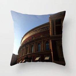Royal Albert Hall Throw Pillow
