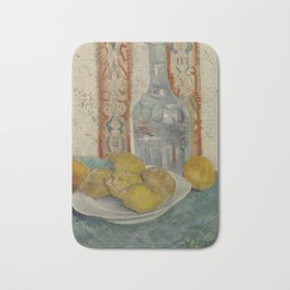 Carafe and Dish with Citrus Fruit Bath Mat