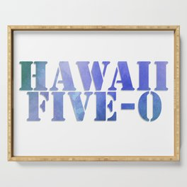 Hawaii Five-0 Serving Tray