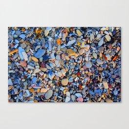Pebbled Canvas Print