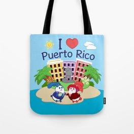 Ernest & Coraline | I love Puerto Rico Tote Bag