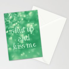 Shut Up and Kiss Me Stationery Cards