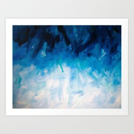 Submersion Art Print