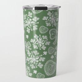 Irish Lace Travel Mug