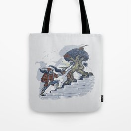 The Never Ending Duel Tote Bag