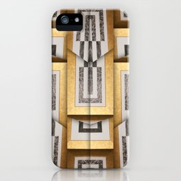 280 brown gold white black iPhone Case