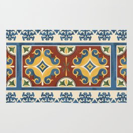 traditional Kazakh ornament Rug