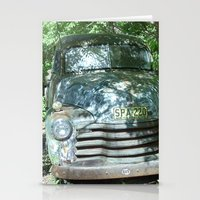 truck Stationery Cards featuring Truck  by Clint Harris