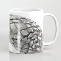 snake Mugs featuring Snake by donotseemeart