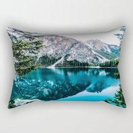 Reflected Peaks Rectangular Pillow