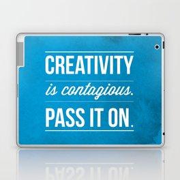 Creativity is contagious, Pass it on! Laptop & iPad Skin