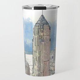 Cleveland Key Tower Travel Mug