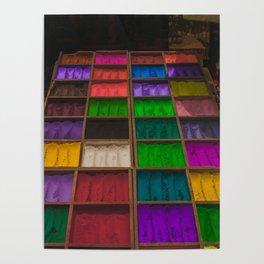 The Colors of Kathmandu City 01 Poster