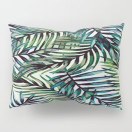 Palm Leaves Abstract Pillow Sham