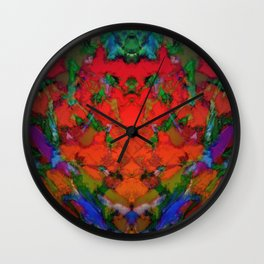 The inevitable red step Wall Clock