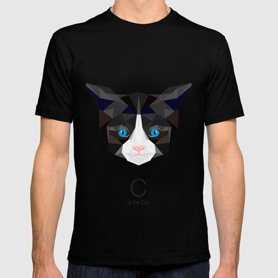 C is for Cat T-shirt