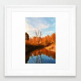 Boone Fork Creek Framed Art Print