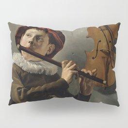 "Judith Leyster ""Boy playing the Flute"" Pillow Sham"