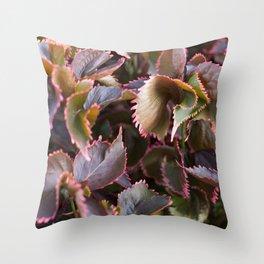 Color Tropical Throw Pillow