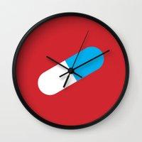 akira Wall Clocks featuring AKIRA by Gershom Charig
