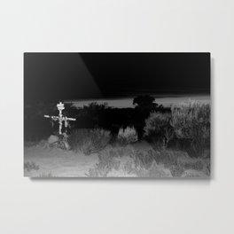 Taos sunset Metal Print
