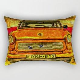 Trabant Van Gogh Rectangular Pillow