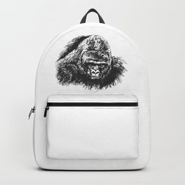 Gorilla head Backpack