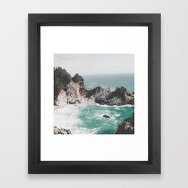 Big Sur / California Beach Framed Art Print