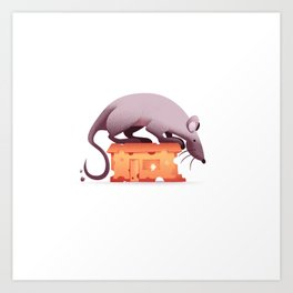 A mouse's house Art Print