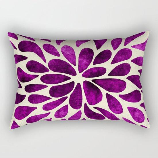Petal Burst #21 Rectangular Pillow