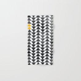 Triangle - Yellow II Hand & Bath Towel