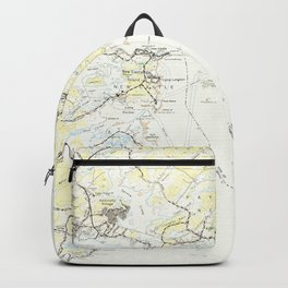 Vintage Map of Kittery Maine (1944) Backpack