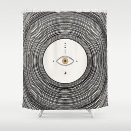 Universe Eye Shower Curtain