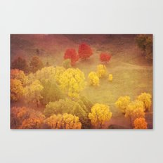 Winter's Messenger 2 Canvas Print