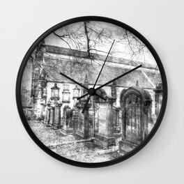 Greyfriars Kirk Edinburgh Vintage Wall Clock