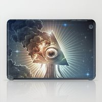 war iPad Cases featuring War Of The Worlds II. by Dr. Lukas Brezak